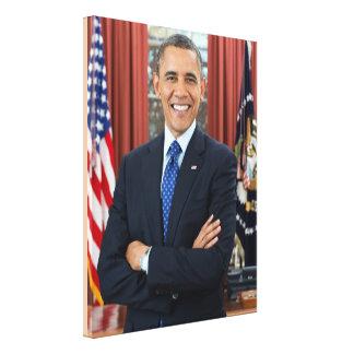 44. Präsident der Vereinigten Staaten Barack Obama Leinwanddruck