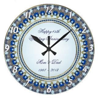 45. Hochzeitstag-Wanduhr Uhren