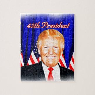 45. Präsident-Donald Trumpf _