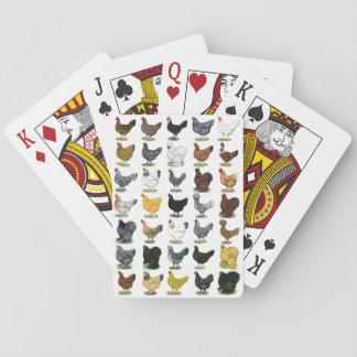 49 Huhn-Hennen Pokerkarte