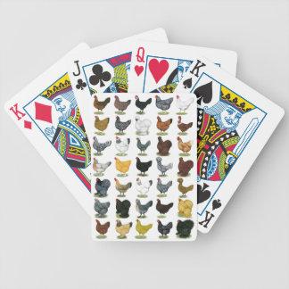 49 Huhn-Hennen Pokerkarten