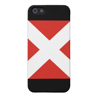 (4) Flagge des Signal-vier iPhone 5 Schutzhülle