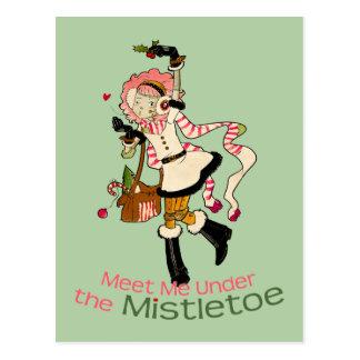 4 kleine Monster - Nessa Feiertag Postkarte