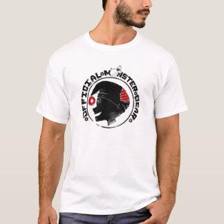 4 kleine Monster - Nigel-Feiertags-Logo T-Shirt