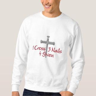 4 Kreuz gegeben Pullover