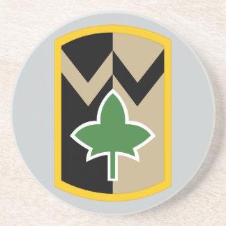 4. Unterstützungs-Brigade Getränkeuntersetzer
