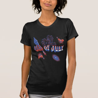 4. von Juli-Feiern T-Shirt