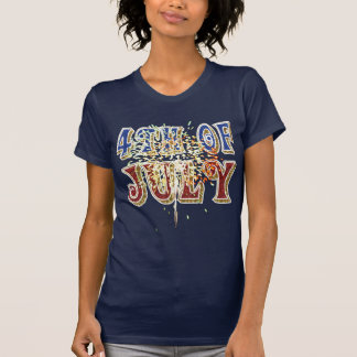 4. von Juli-Hemd T-Shirt