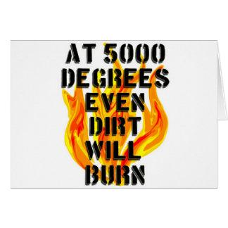 5000 Grad für schwarzes Shirt Karte