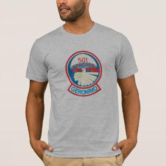 501st PIR Taschen-Flecken-T - Shirts