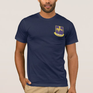 502nd Infanterie DUI + Luft-Angriff Wings T - T-Shirt