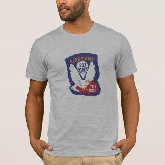 503rd PIR Taschen-Flecken-T - Shirts