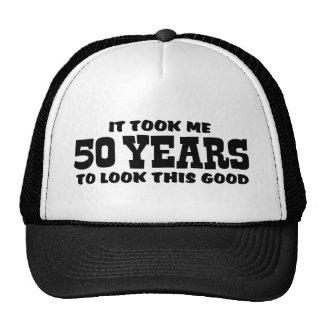 50. Geburtstag Baseballmütze