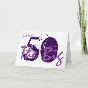 Der 50 Geburtstag Schwester Geschenke Zazzle Ch