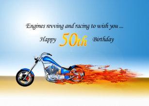 Motorrad Geburtstags Karten Zazzle Ch