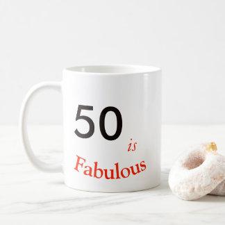 50. Geburtstags-Becher Kaffeetasse