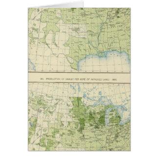 50 Gerste 1890 Karte