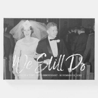 50. Hochzeits-Jahrestag mit Foto - wir tun noch Gäste Buch