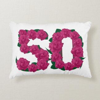 50. Hochzeitstag 50 Akzent-Kissen Dekokissen