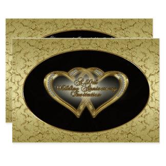 50. Hochzeitstag-Einladungs-Karte 12,7 X 17,8 Cm Einladungskarte