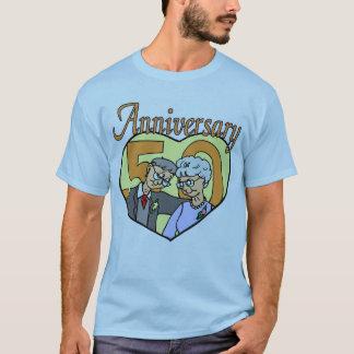 50. Hochzeitstag-Geschenke T-Shirt