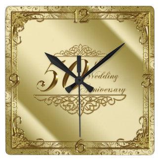 50. Hochzeitstag-Wanduhr Uhr