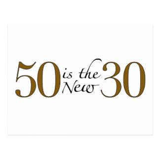 50 ist die neuen 30 postkarten