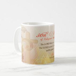 50. Jahrestag des religiösen Berufs, Nonne Kaffeetasse