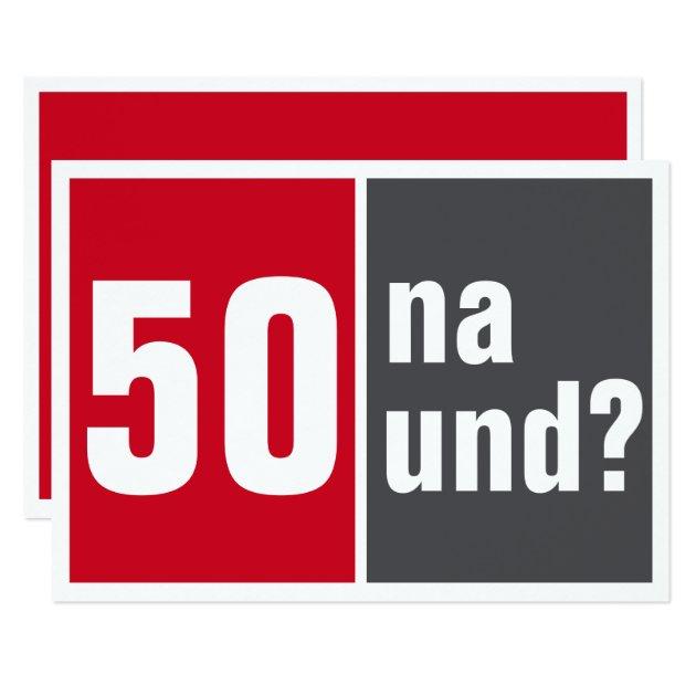 50 geburtstag einladungen texte fünfzigster | brillebrille, Einladungen