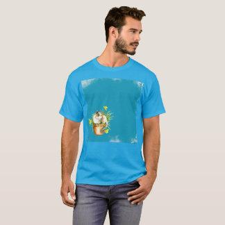 50 Schatten Gato blauer Watercolor-seltener T - T-Shirt