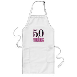 50 u. fabelhafte rosa schwarze Typografie-50. Lange Schürze