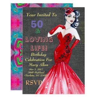 50 u. liebevolle Leben-Party Einladungen