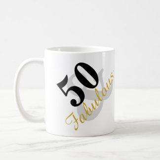 50 und fabelhafte Geburtstags-Tasse Tasse