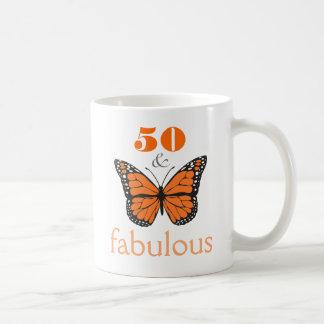 50 und fabelhafte tasse