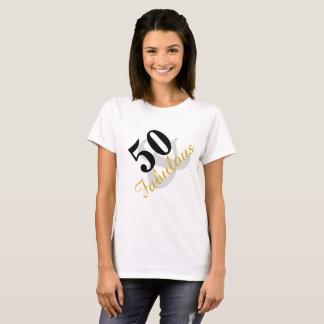 50 und fabelhafter Geburtstags-T - Shirt