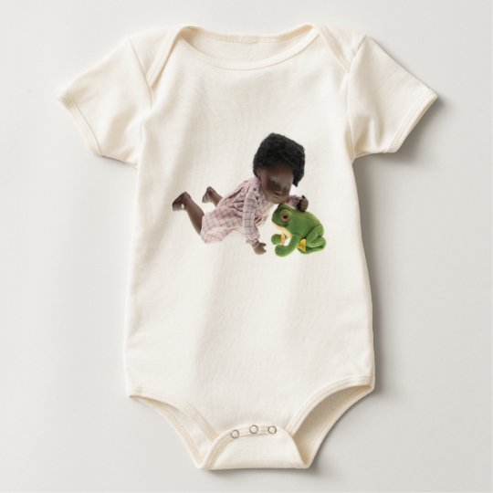 519 Sasha Cara Black  Baby Baby Strampler