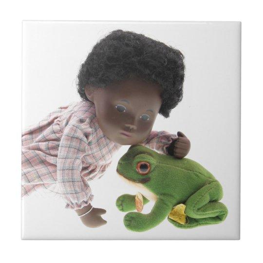 519 Sasha Cara Black  Baby Fliese