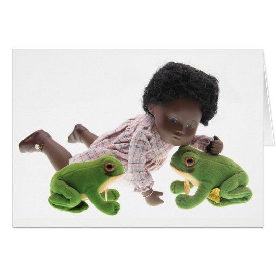 519 Sasha Cara Black  Baby Grusskarte Karte