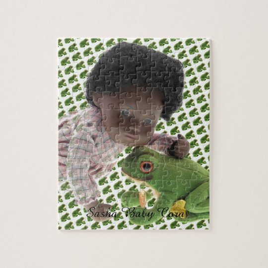 519 Sasha Cara Black  Baby Puzzles