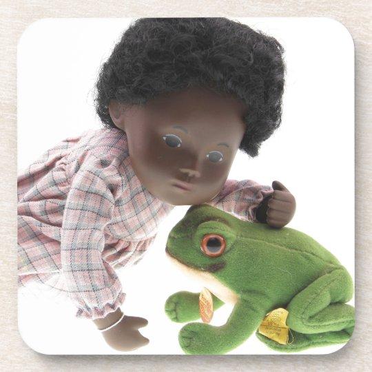 519 Sasha Cara Black  Baby Untersetzer