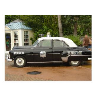 '51 Chevrolet Polizeiwagen Postkarte