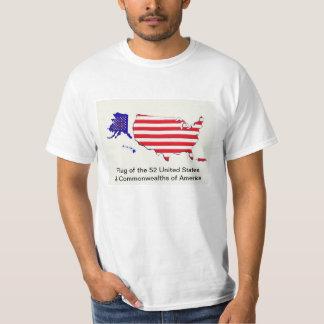 52 Staats-Flagge USA-T - Shirt