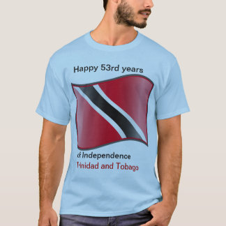 53. Jahre von Unabhängigkeit von Trinidad und T-Shirt