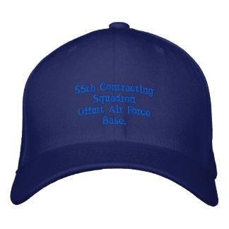 55. Abschließengeschwader Bestickte Kappe