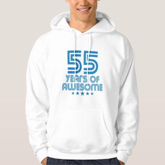 55 Jahre des fantastischen 55. Geburtstages Hoodie