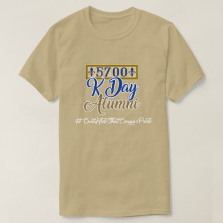 5700 Kennedy-Schüler - Kiesel T-Shirt