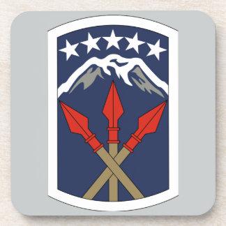 593rd Unterstützungs-Brigade Getränkeuntersetzer