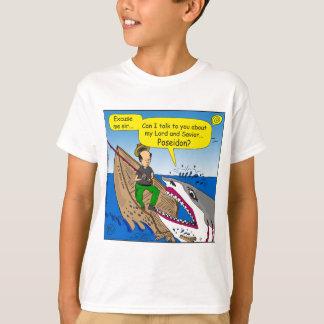 595 Poseidon Cartoon T-Shirt