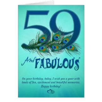59. Geburtstagsschablone Karten
