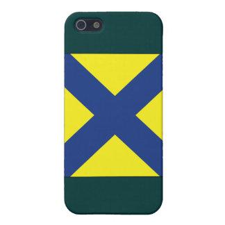 (5) Flagge des Signal-fünf iPhone 5 Etui